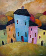 Urban Colours giclee art print