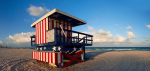 Watchtower MIAMI BEACH giclee art print