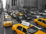 Yellow Cabs NY giclee art print