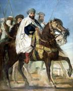 Ali Ben Ahmed the Last Caliph of Constantine 1845 giclee art print
