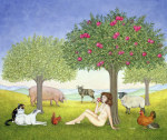 An Apple a Day. Triptych Part Three giclee art print