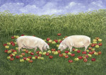 Apple-sows giclee art print