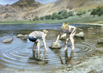 Blea Tarn Summer, 1987 giclee art print