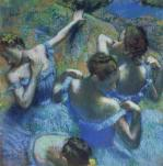 Blue Dancers, c.1899 giclee art print