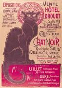 Collection du Chat Noir giclee art print
