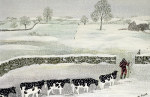 Cotswold: Winter Scene giclee art print
