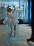 Dancer in Front of a Window c.1874 giclee art print