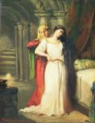Desdemona Retiring to her Bed, 1849 giclee art print