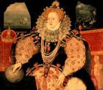 Elizabeth I, Armada Portrait, c.1588 giclee art print