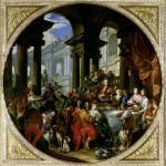 Feast under an Ionic Portico c.1720 giclee art print