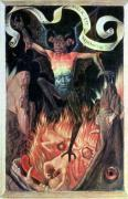 Hell right panel from the Triptych of Earthly Vanity c.1485 giclee art print