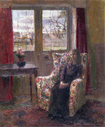 In the Armchair by the Window giclee art print