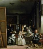 Las Meninas, c.1656 giclee art print