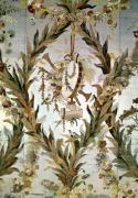 Mural silk of the Empress' Bedroom 1787 giclee art print