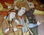 Nobles at the Court of Shah Abbas I (Detail) giclee art print