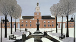 Philadelphia in the Snow giclee art print