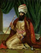 Portrait of Asker-Khan Ambassador of Persia 1809 giclee art print