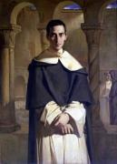 Portrait of Jean Baptiste Henri Lacordaire 1841 giclee art print