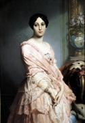 Portrait of Madame F 1850 giclee art print