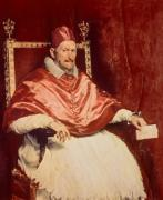 Portrait of Pope Innocent X, 1650 giclee art print