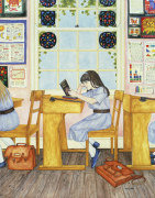 School, 1986 giclee art print