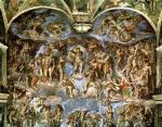 Sistine Chapel: The Last Judgement, 1538 giclee art print