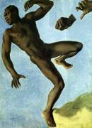 Study of a Nude Negro 1838 giclee art print