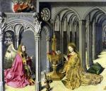 The Annunciation c.1445 giclee art print