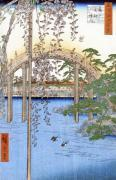 The Bridge with Wisteria or Kameido Tenjin Keidai giclee art print