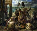 The Crusaders entry into Constantinople 1840 giclee art print