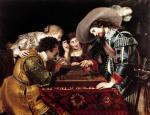 The Game of Backgammon giclee art print