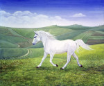 The Landscape Horse giclee art print