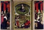 The Triptych of Moses and the Burning Bush c.1476 giclee art print