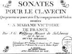Title Page for &#39;Sonates pour le clavecin&#39; giclee art print
