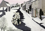 Whittington in winter giclee art print