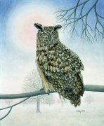 Winter-Owl giclee art print