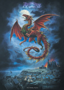 Alchemy (Whitby Wyrm) art print
