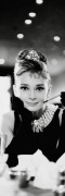 Audrey Hepburn (B&amp;W) art print