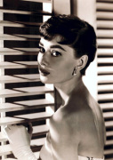 Audrey Hepburn (Blinds) art print