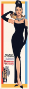 Audrey Hepburn (Breakfast at Tiffany&#39;s) art print