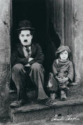 Charlie Chaplin (Doorway) art print