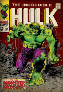 Incredible Hulk (Monster Unleashed) art print