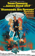 James Bond - Diamonds Are Forever art print