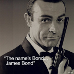 James Bond (I.Quote) art print