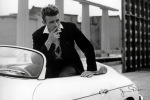 James Dean (White Car) art print
