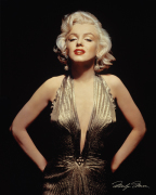 Marilyn Monroe (Gold) art print