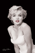 Marilyn Monroe (Red Lips) art print