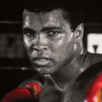 Muhammad Ali (Boxing Gloves) art print
