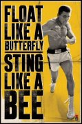 Muhammad Ali (Float Like A Butterfly) art print
