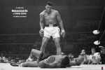 Muhammad Ali (v Liston Landscape) art print